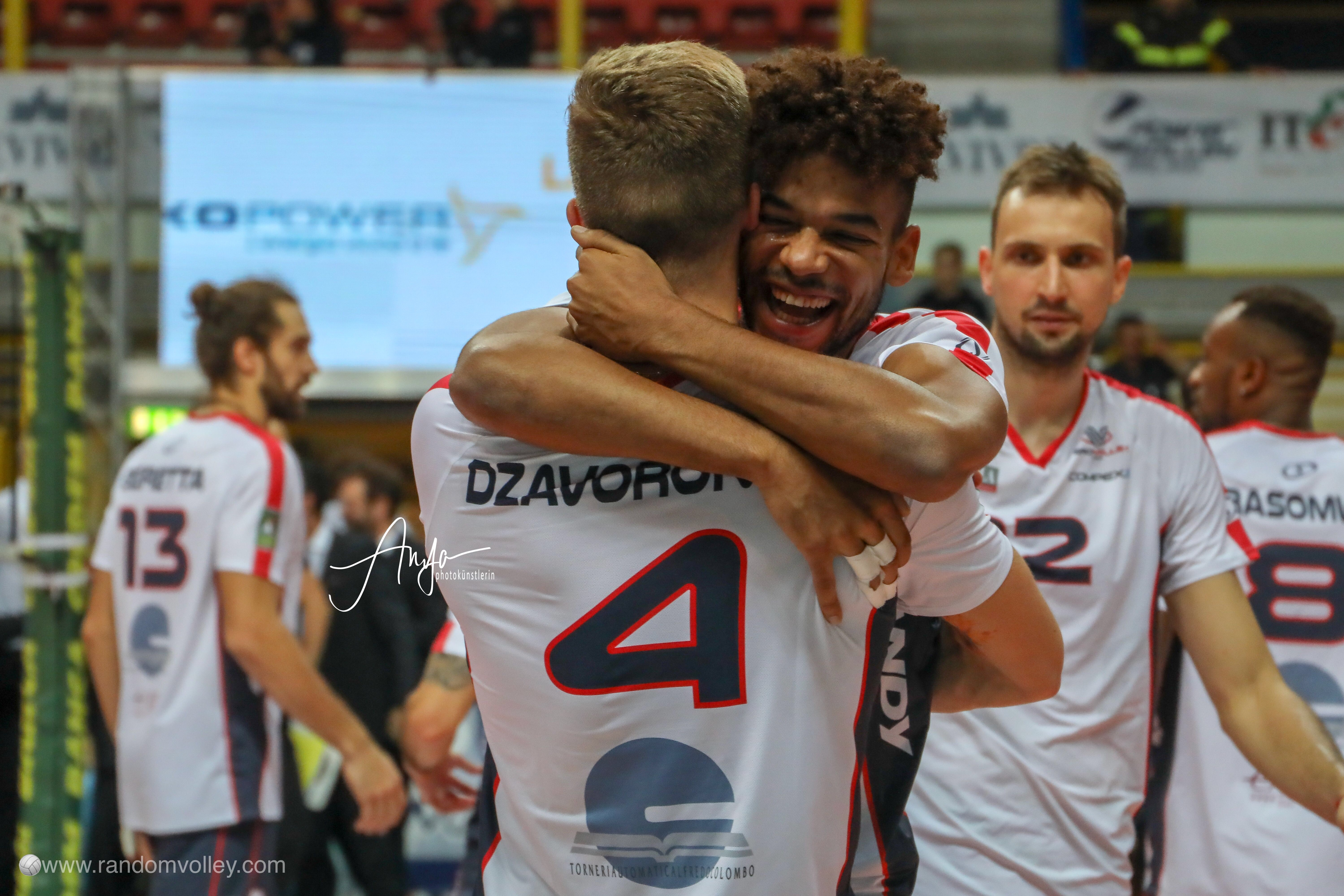 Superlega Round 7: photogallery of Milano-Monza