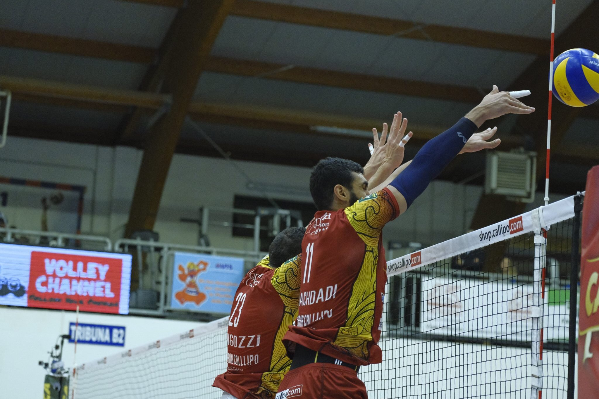 Al Hachdadi: the best in the Superlega's 8th round.