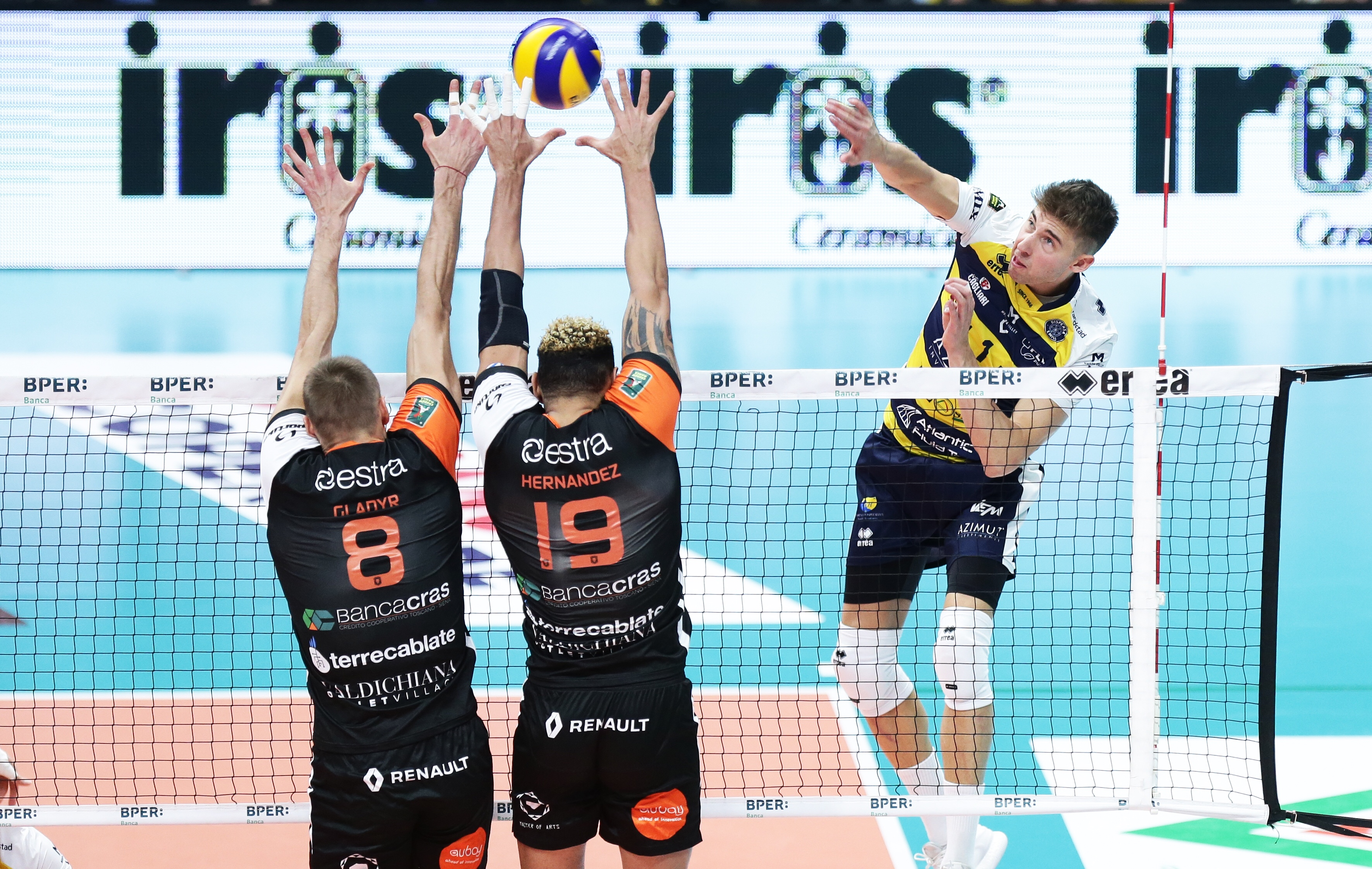 Superlega's Round 11: Half miracle for Siena in Modena, Castellana Grotte still winless.