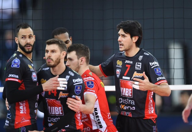 #ChampionsLeague: Victory for Civitanova and Perugia, first victory for Knack Roeselare, Chamount defeat ACH Volley