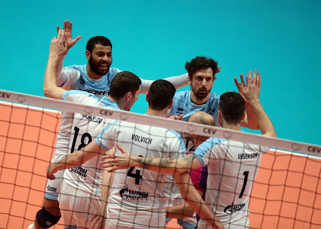 #ChampionsLeague: Golden set saves Zenit. But Gdansk, what a match!