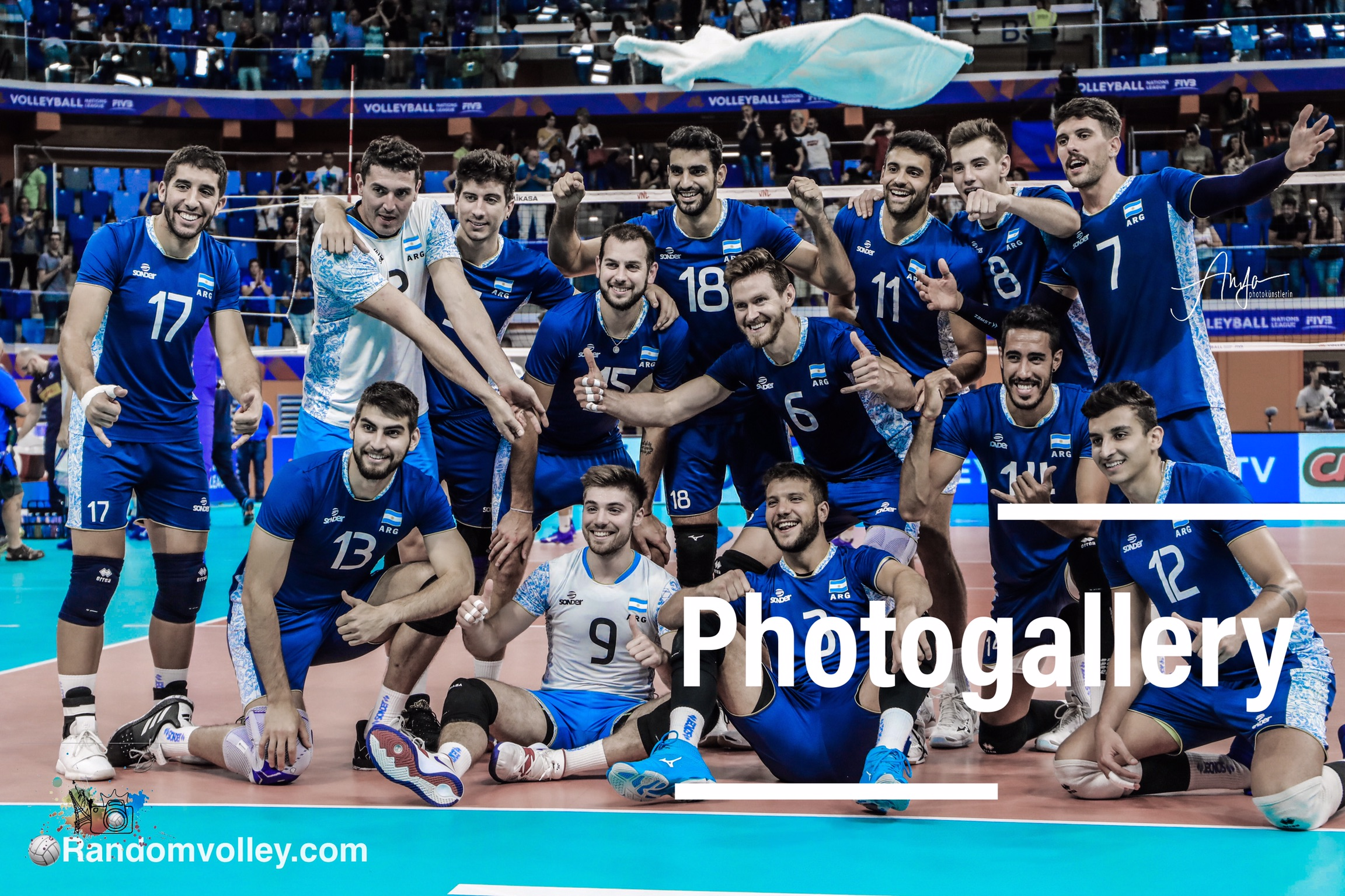 VNL 2019: Photogallery of Italy-Argentina