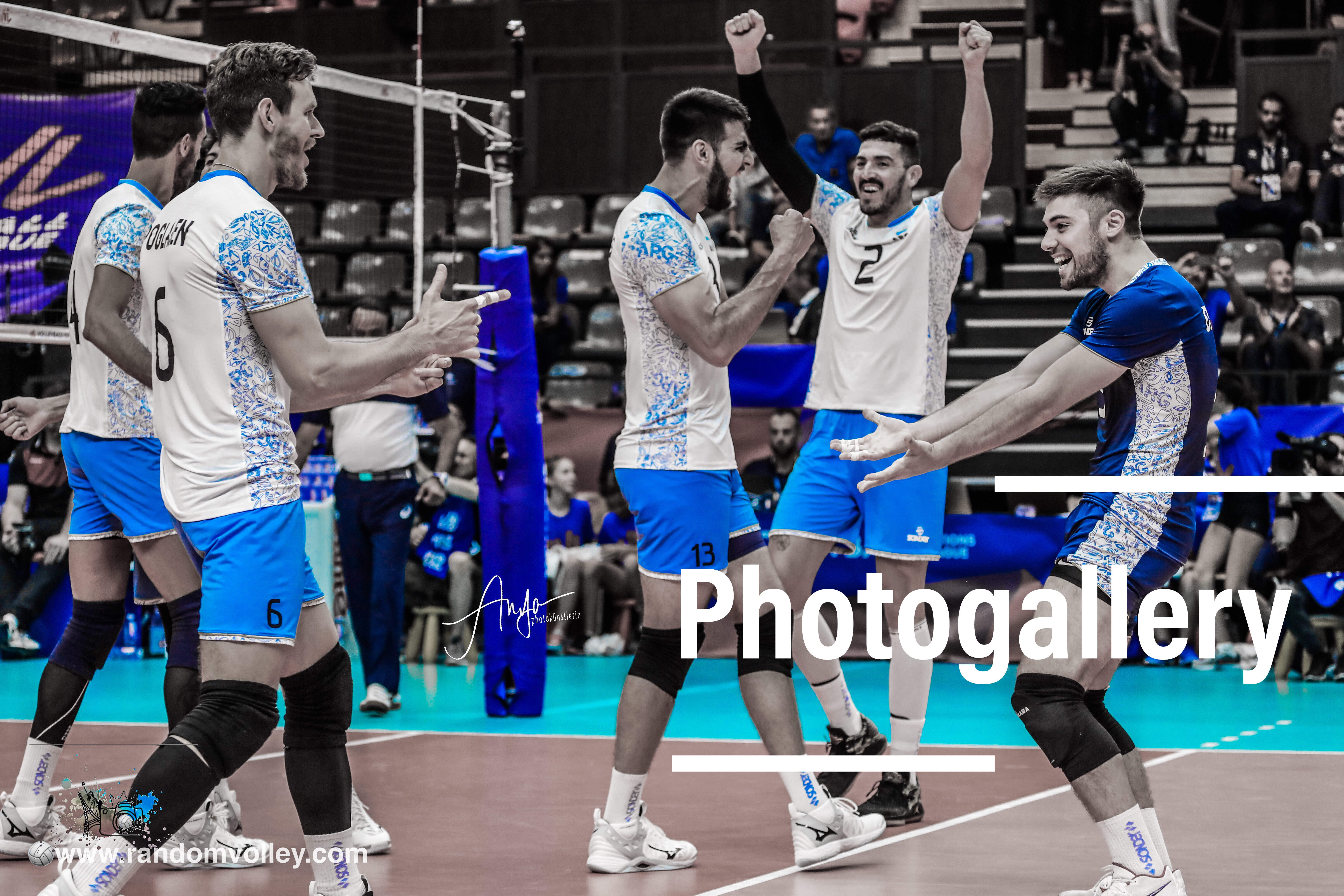VNL 2019: Photogallery of Argentina-Germany