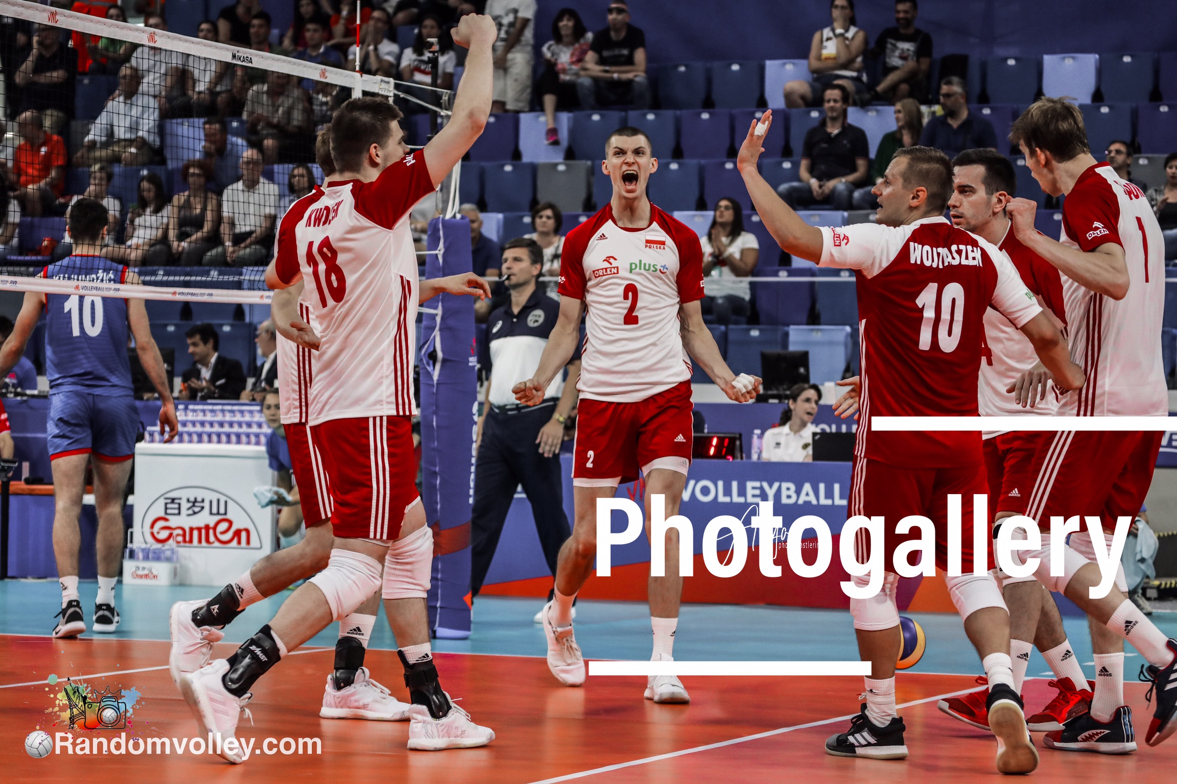 VNL 2019: Photogallery of Poland-Serbia
