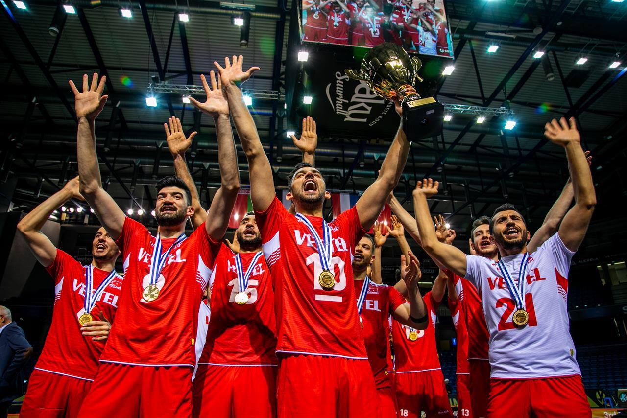 #GoldenEuropeanLeague: First title for Turkey, Ekşi̇ MVP of Final 4.