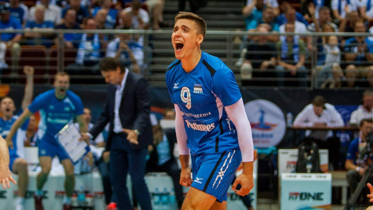 #Italy: Perugia sign Estonian outside hitter Robert Täht